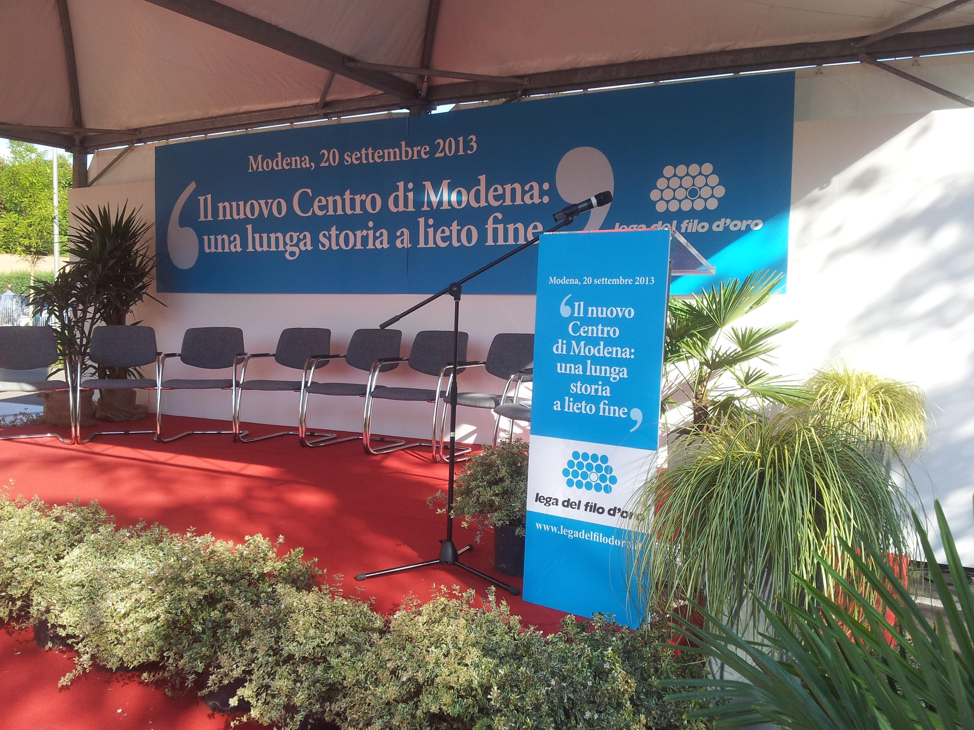 LEGA DEL FILO D'ORO - vestizione inaugurazione Modena