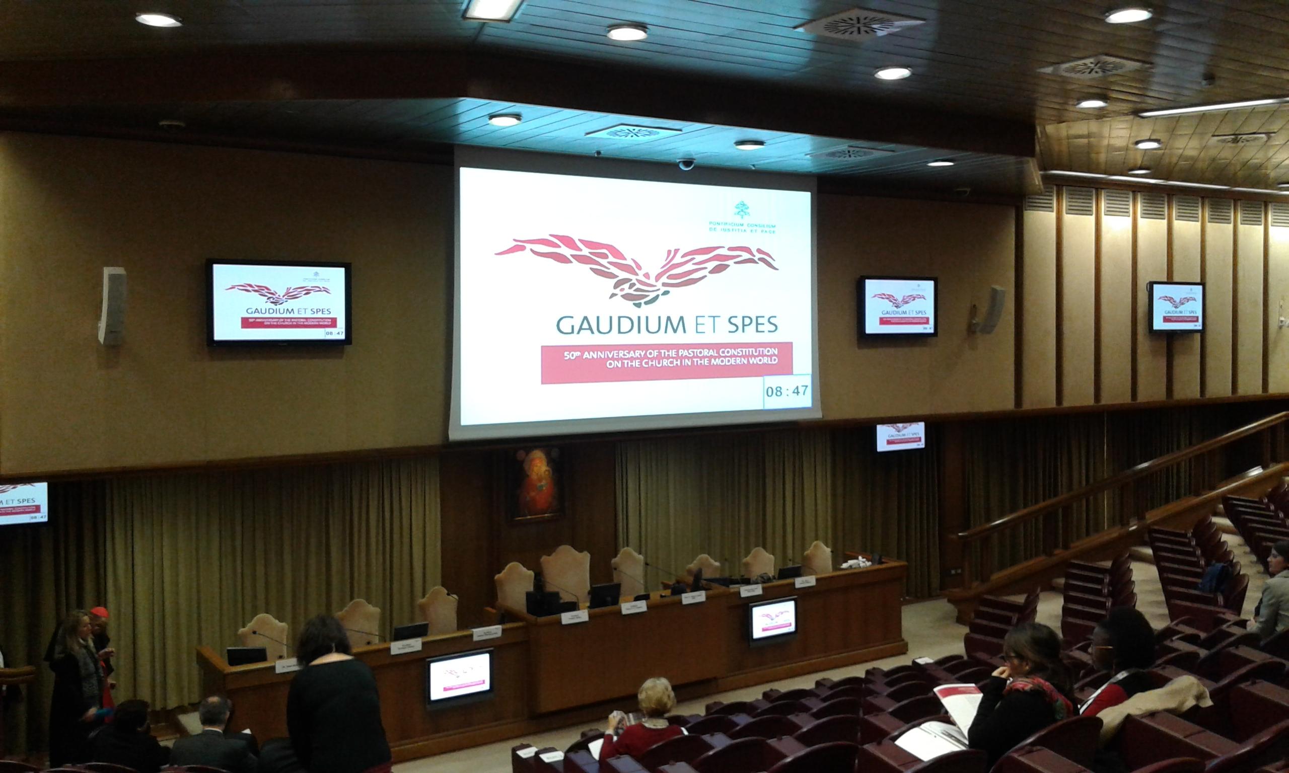 Pontificio Consiglio Giustizia e Pace - immagine convegno