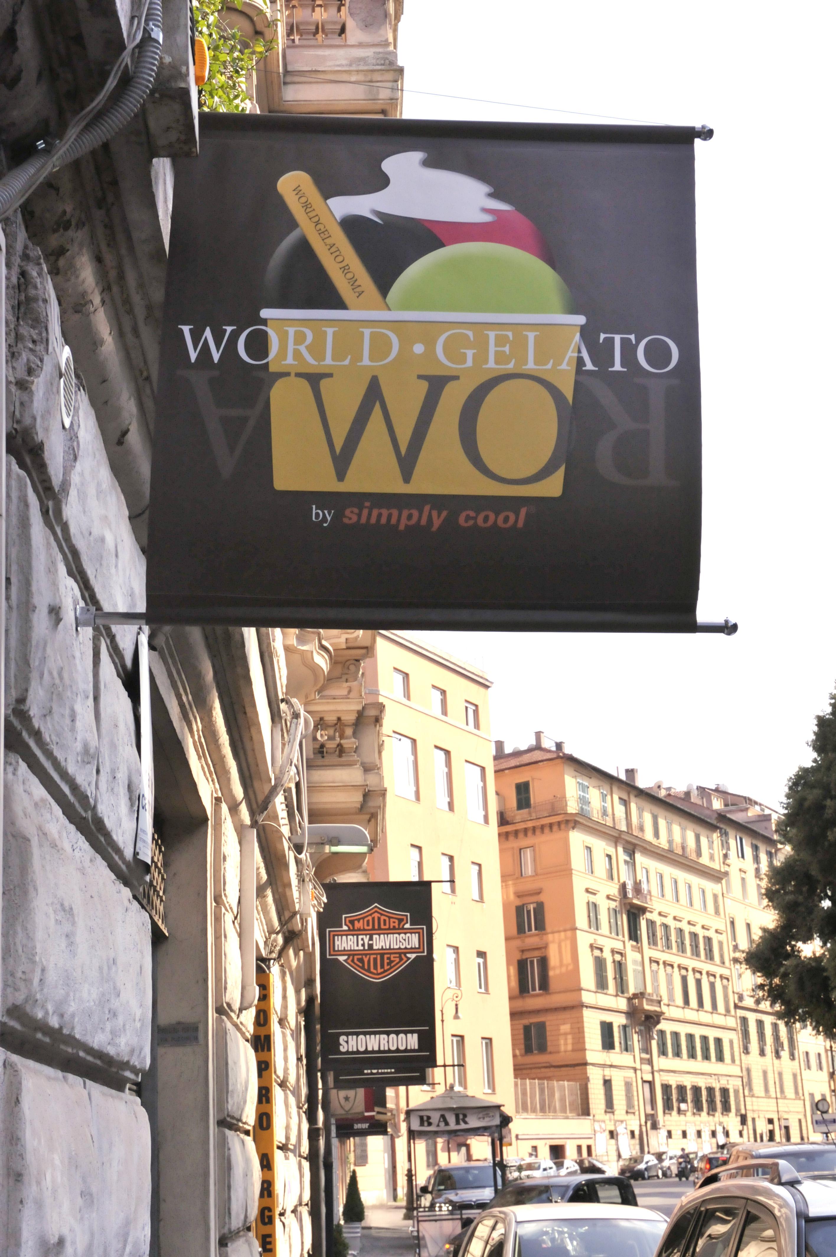 WGR stendardo via Pinciana