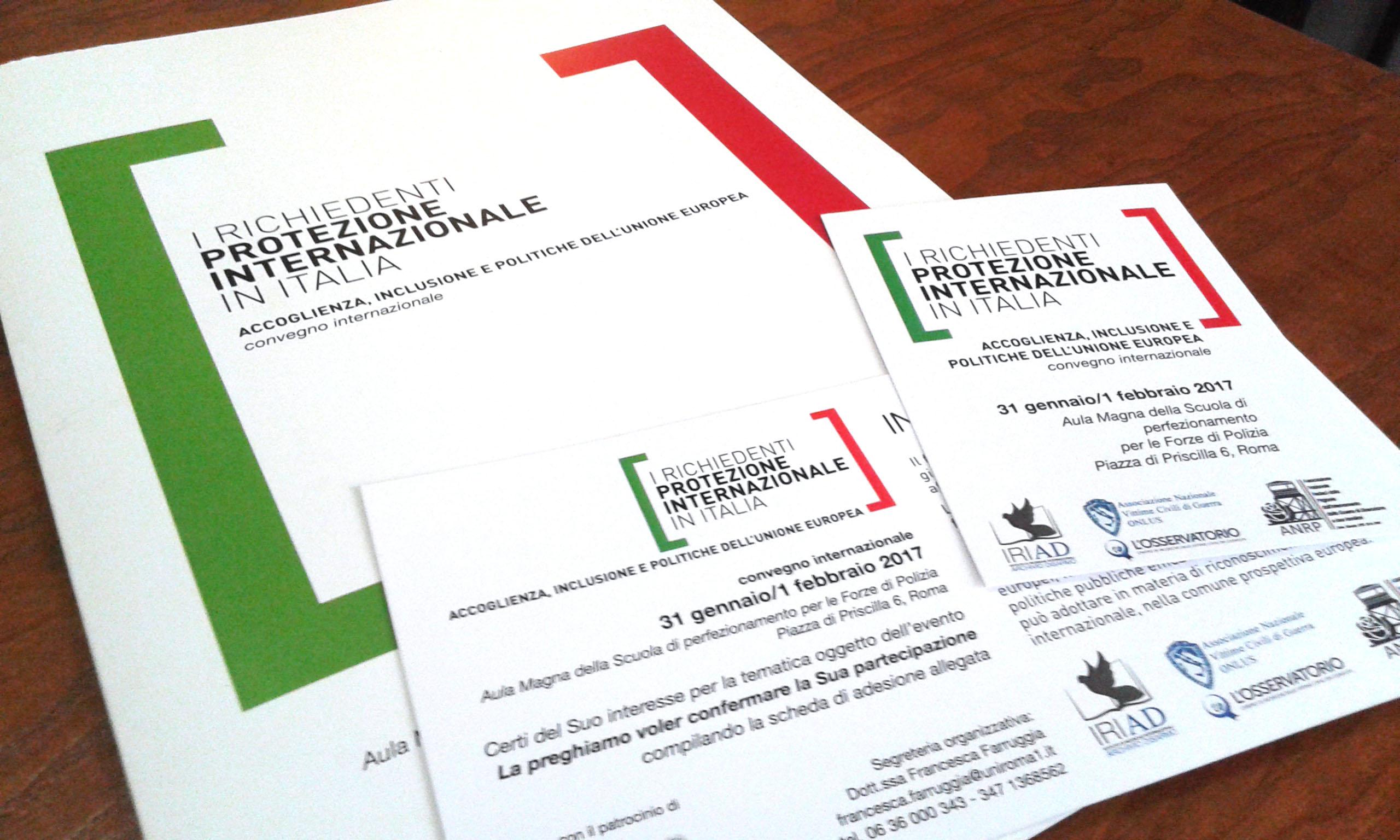 IRIAD - richiedenti asico - cartacei