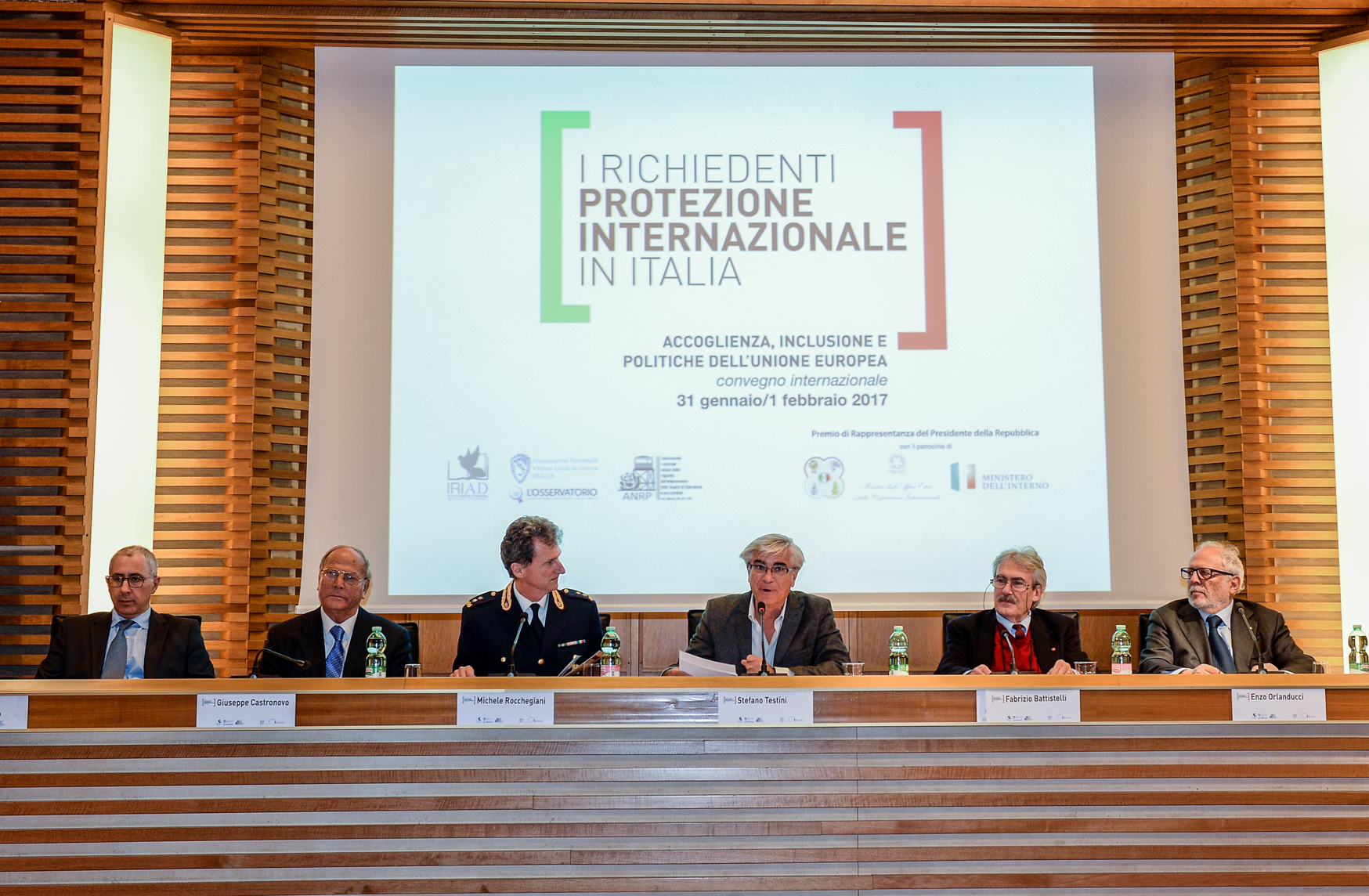 Roma, 31 gennaio/1 febbraio 2017 - Accoglienza, inclusione e politiche dell'Unione Europea. Convegno Internazionale.