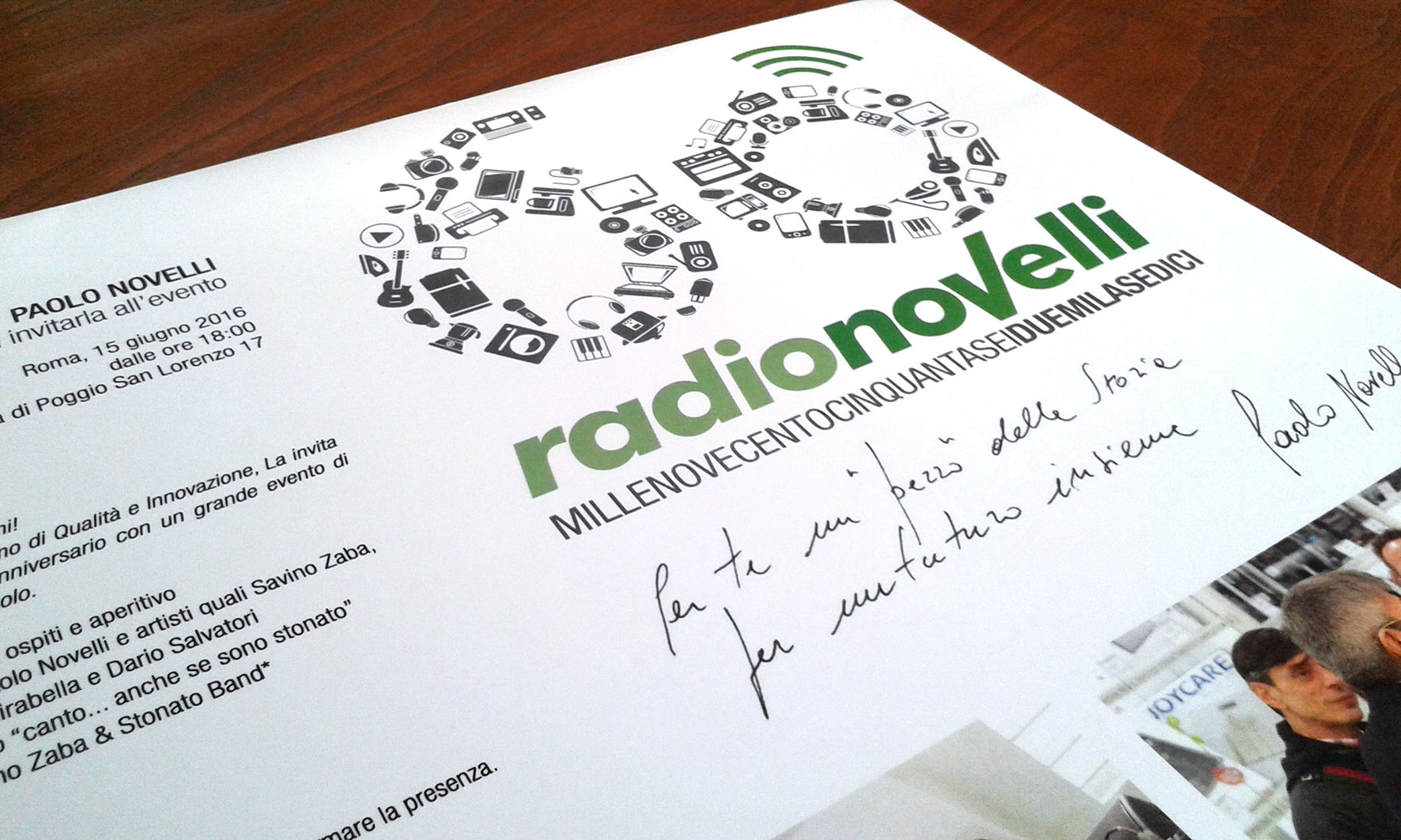 Radionovelli invito 60°