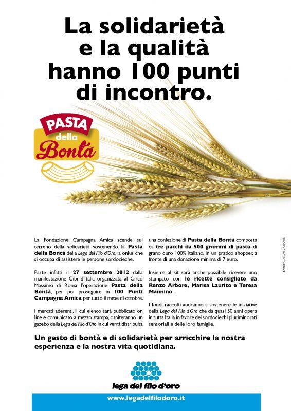PASTA DELLA BONTA X CAMPAGNA AMICA 1