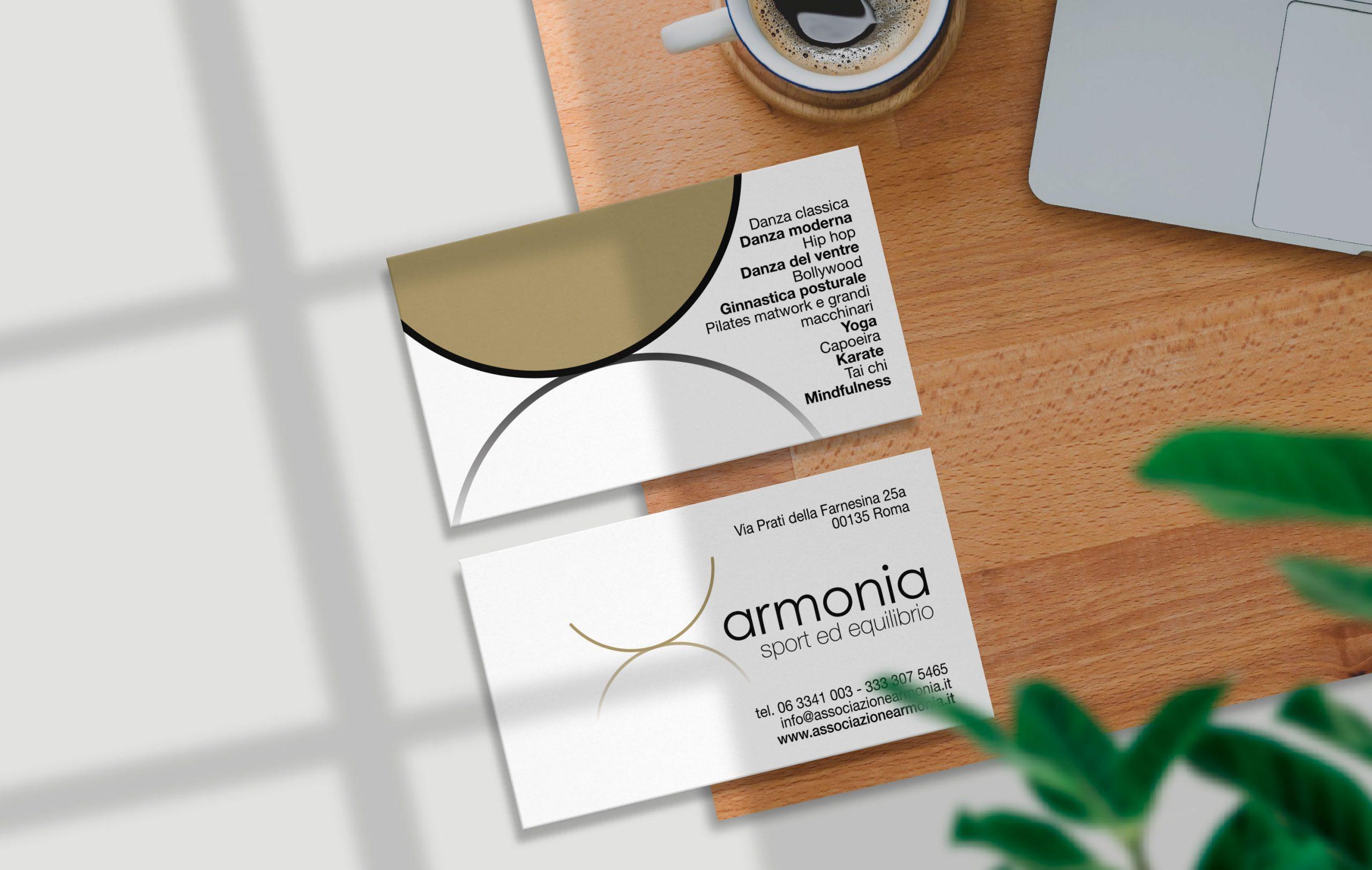 biglietto da visita Armonia
