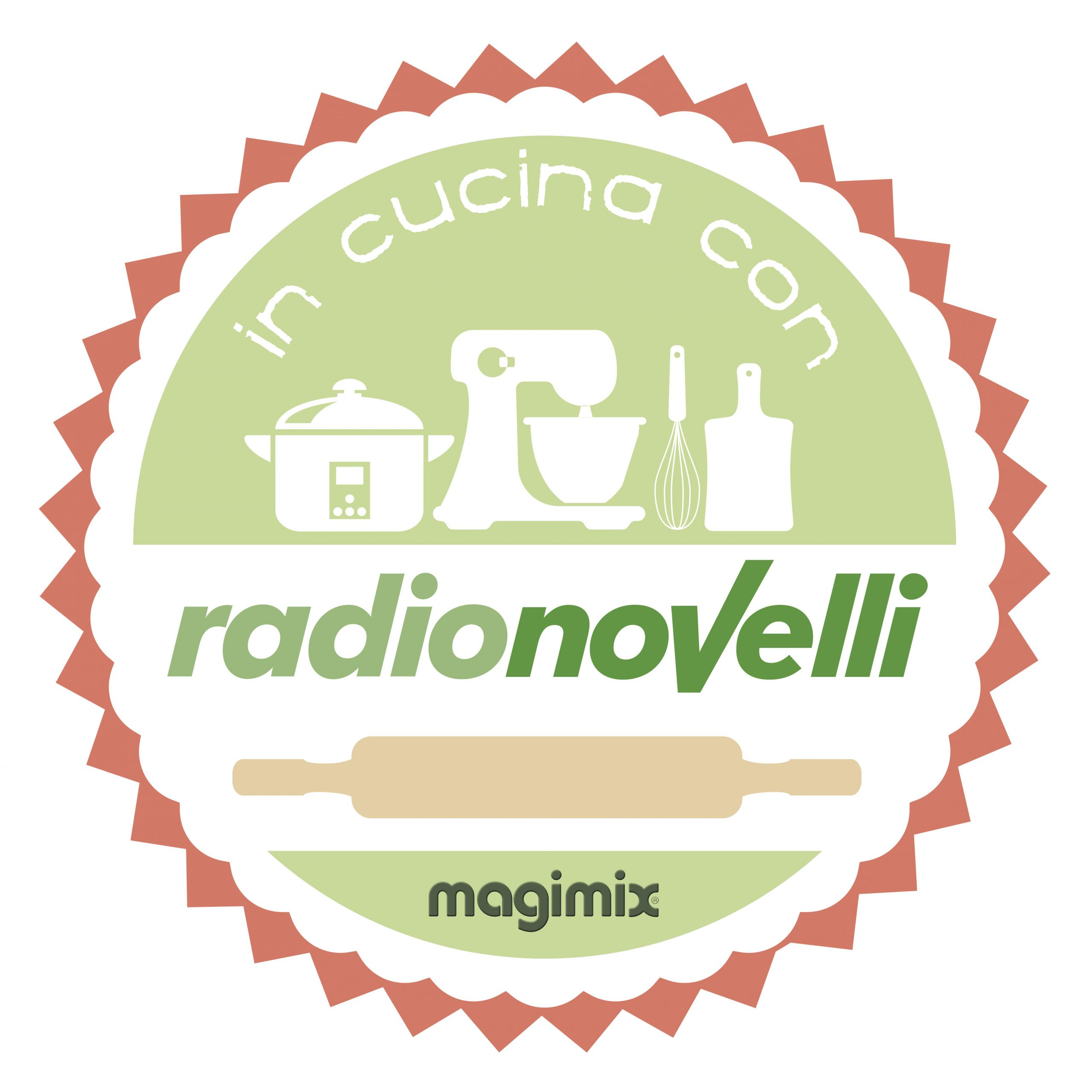 logo In CUCINA con RN magimix