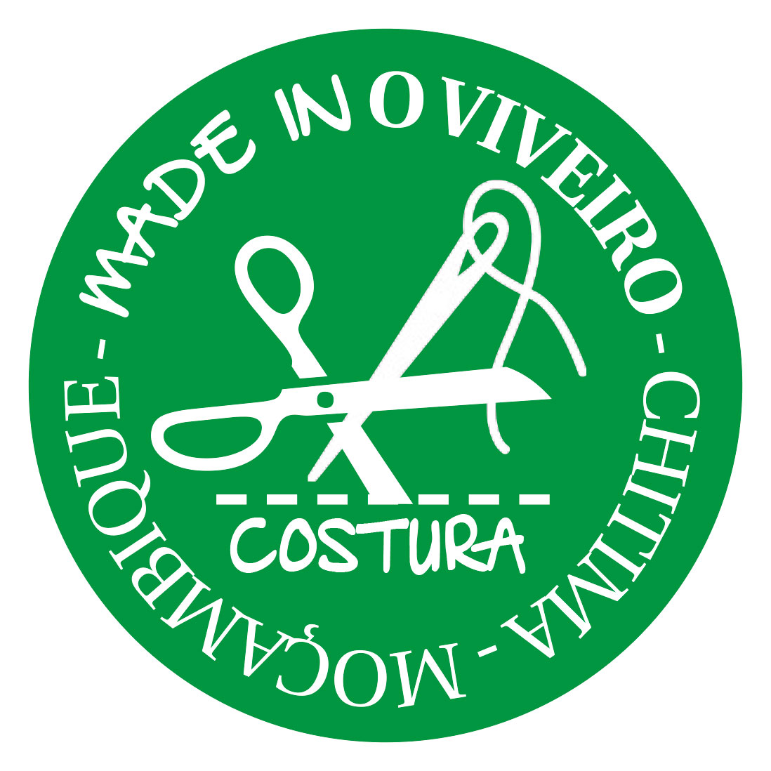 logo MADE IN O VIVEIRO - COSTURA