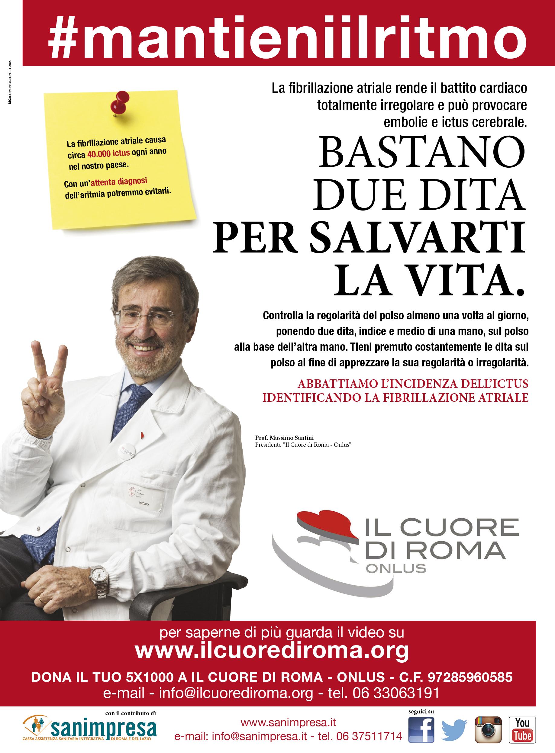 IL CUORE DI ROMA ONLUS - campagna prevenzione