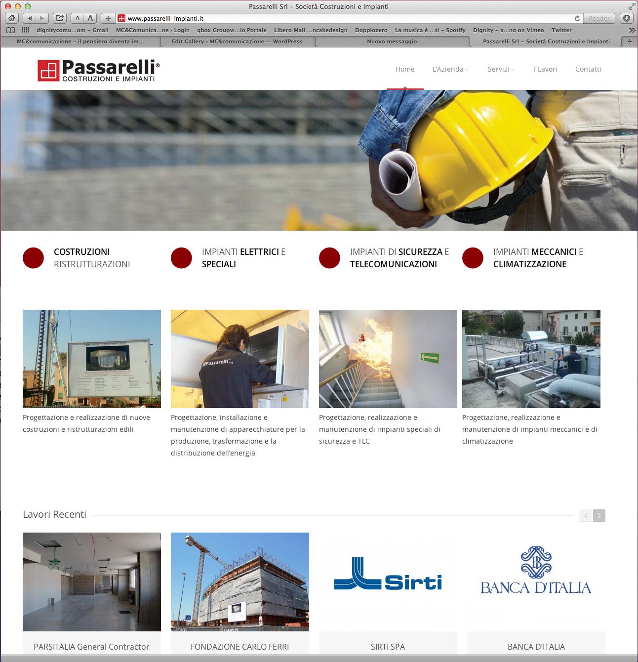 Passarelli sito web